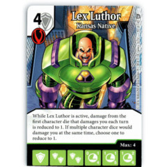 Lex Luthor - Kansas Native (Die & Card Combo)