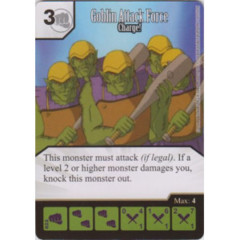 Goblin Attack Force - Charge! (Die & Card Combo)
