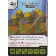 Goblin Attack Force - Goblin Squad (Die & Card Combo)