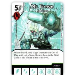 Mr. Freeze - Sub Zero (Die & Card Combo)