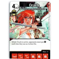 Oracle - Internet Interference (Die & Card Combo)