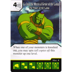 La Jinn the Mystical Genie of the Lamp - The Power of the Lamp (Die & Card Combo)