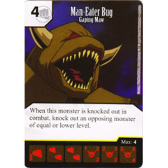 Man-Eater Bug - Gaping Maw (Die & Card Combo)
