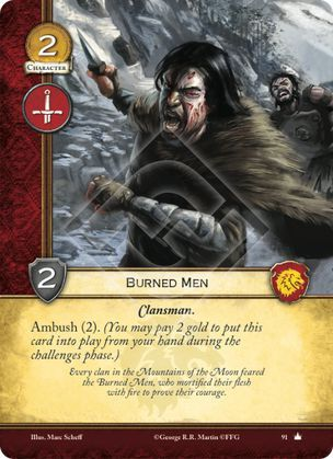 Burned Men - Core