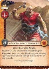 Ser Archibald Yronwood
