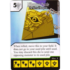 Millennium Puzzle - The Eternal Dungeon (Die & Card Combo)