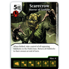 Scarecrow - Horror of Gotham (Die & Card Combo)