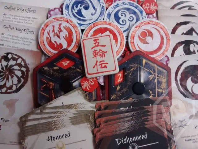L5R Core Set Tokens, Dials, and Related Cards (Bundle)