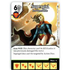 Supergirl - Invulnerable (Die & Card Combo)
