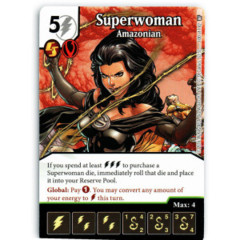 Superwoman - Amazonian (Die & Card Combo)