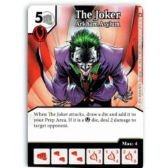 The Joker - Arkham Asylum (Die & Card Combo)