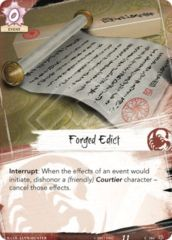 Forged Edict