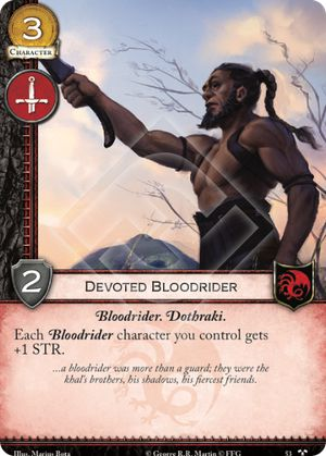 Devoted Bloodrider - FFH