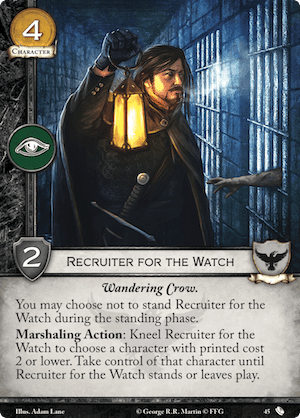 Recruiter for the Watch - TFoA
