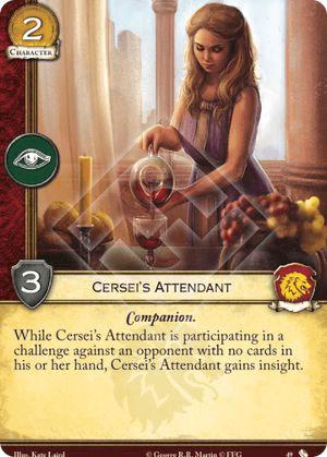 Cerseis Attendant - TFoA