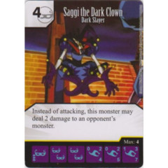 Saggi the Dark Clown - Dark Slayer (Die & Card Combo)