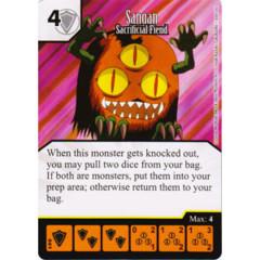 Sangan - Sacrifical Fiend (Die & Card Combo)