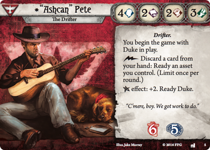 Ashcan Pete: The Drifter bundle