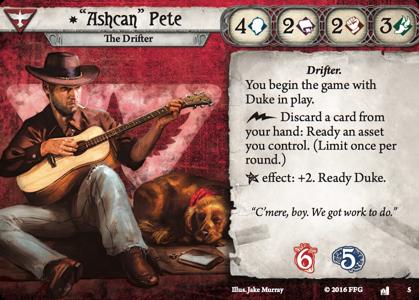 Ashcan Pete: The Drifter bundle