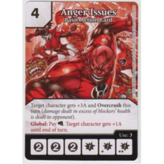 Anger Issues - Basic Action Card (Die & Card Combo Combo)