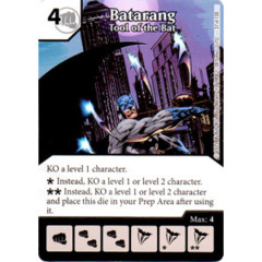 Batarang - Tool of the Bat (Die & Card Combo Combo)