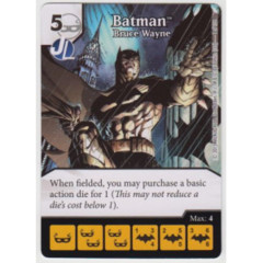 Batman - Bruce Wayne (Die & Card Combo Combo)