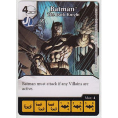 Batman - The Dark Knight (Die & Card Combo Combo)