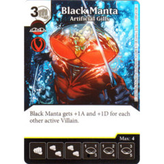 Black Manta - Artificial Gills (Die & Card Combo Combo)