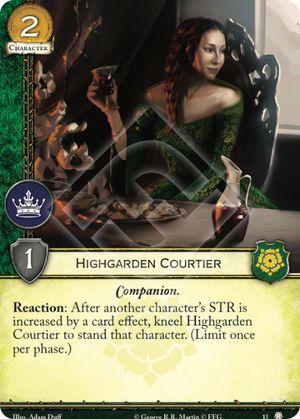 Highgarden Courtier - 15