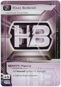 Haas-Bioroid: Stronger Together