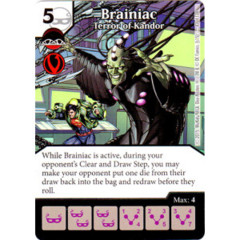 Brainiac - Terror of Kandor (Die & Card Combo Combo)