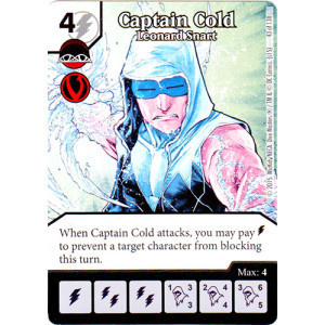 Captain Cold - Leonard Snart (Die & Card Combo Combo)