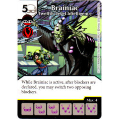 Brainiac - Twelfth-Level Intelligence (Die & Card Combo Combo)