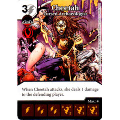 Cheetah - Cursed Archaeologist (Die & Card Combo Combo)