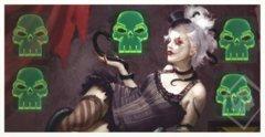 Doomtown Reloaded Promo Acrylic Ghost Rock Token Set