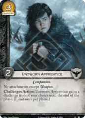 Unsworn Apprentice - TRtW