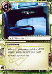 R&D Interface