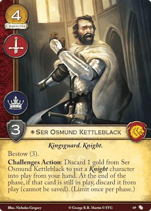 Ser Osmund Kettleblack - TRW