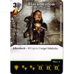 Black Widow - Stealthy (Die & Card Combo)