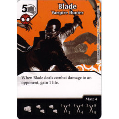 Blade - Vampire Hunter (Die & Card Combo)