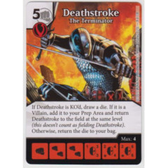 Deathstroke - The Terminator (Die & Card Combo Combo)