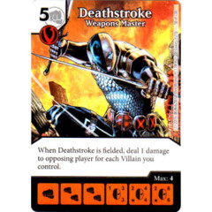Deathstroke - Weapon Master (Die & Card Combo Combo)