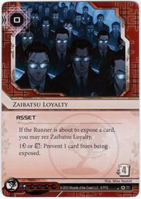 Zaibatsu Loyalty