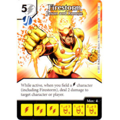 Firestorm - Jason and Ronnie (Die & Card Combo)