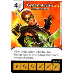 Green Arrow - Former Mayor (Die & Card Combo Combo)