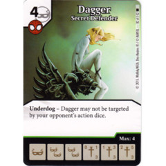 Dagger - Secret Defender (Die & Card Combo)