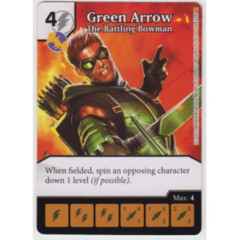 Green Arrow - The Battling Bowman (Die & Card Combo Combo)