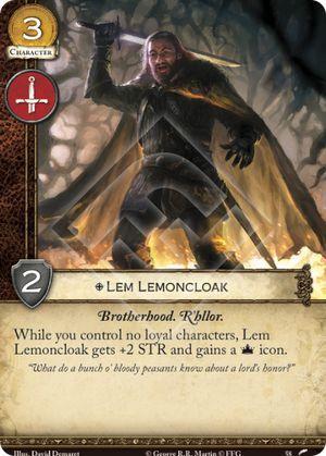 Lem Lemoncloak - Km