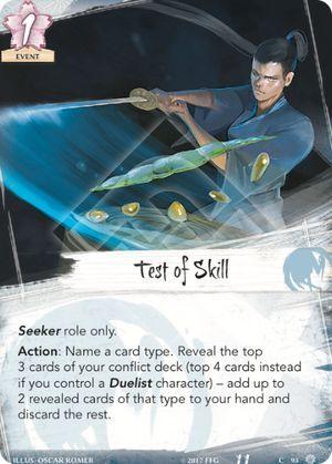 Test of Skill
