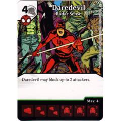 Daredevil - Radar Sense (Die & Card Combo)
